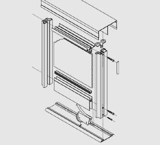 Схемы шкафов купе двери